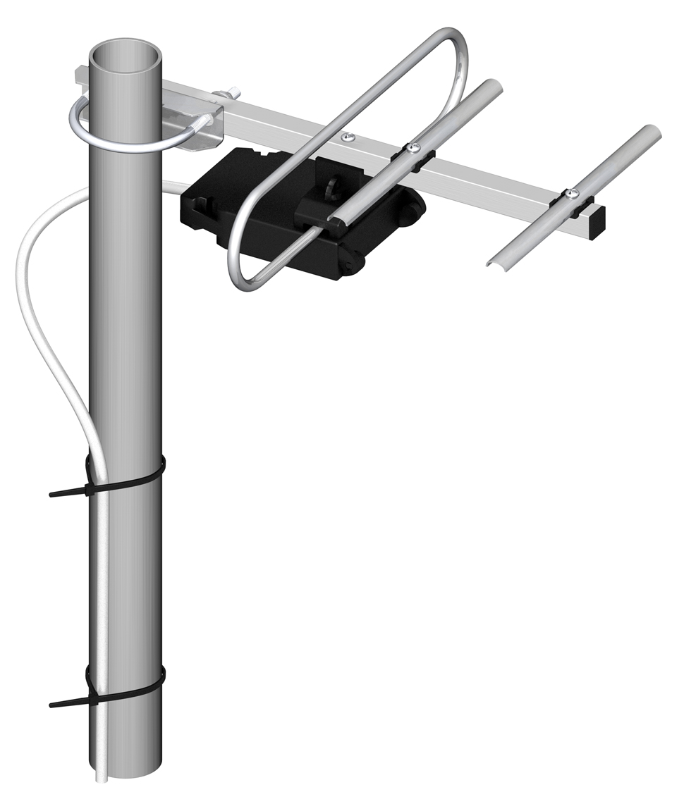 Televíziós antenna csatlakoztatása